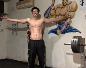 たっかの筋肉が凄い!